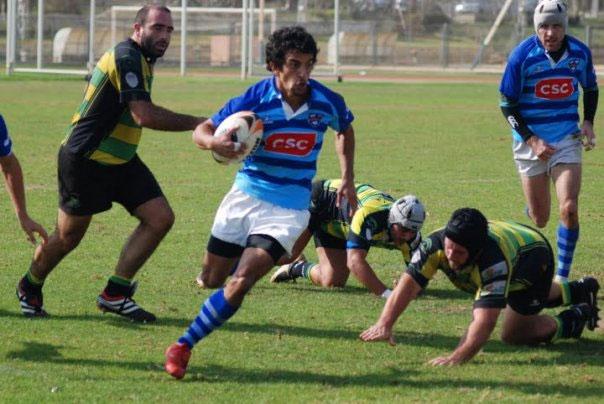Sugus uruguayo eludiendo rivales
